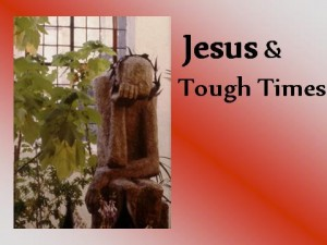 Jesus and Tough Times - Gethsemane. Photo by Peter Lord - Polish church depiction of Gethsemane