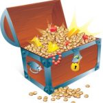 Bible treasure chest; youth activity